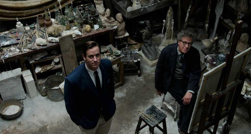 Final Portrait : Geoffrey Rush bluffant sous les traits de Giacometti