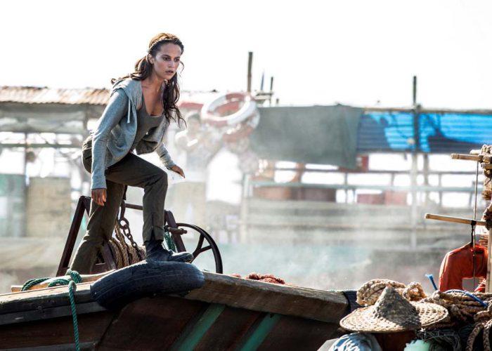 Lara Croft passe du mode humain à surhumain